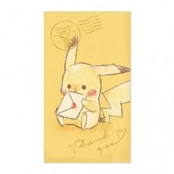 Sac Pikachu number 025 Thank You japan plush