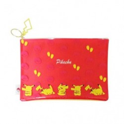 Pochette Plate Color Pikachu japan plush