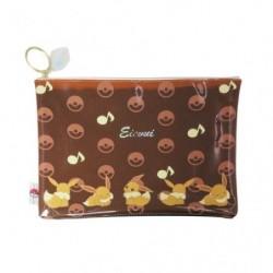 Color Flat Pocket Eevee japan plush