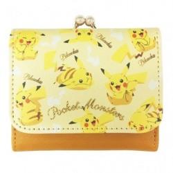 Tri-Fold Wallet Pikachu japan plush