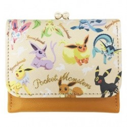 Tri-Fold Wallet Eevee Evolution japan plush