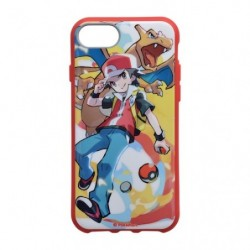 Smartphone Cover Pokémon Trainers Red and Charizard
