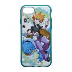 Smartphone Cover Pokémon Trainers Green and Blastoise japan plush