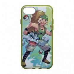 Smartphone Coque Entraineur Pokémon Montagnard et Alola Racaillou japan plush