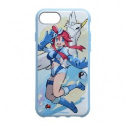 Smartphone Cover Pokémon Trainers Floro and Swanna japan plush