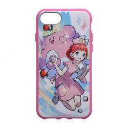 Smartphone Cover Pokémon Trainers Pokemon Center Nurse and Blissey japan plush