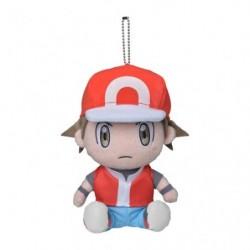 Peluche Entraineur Pokémon Red japan plush