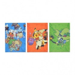 A4 Clear File Set Halloween Pikachu japan plush