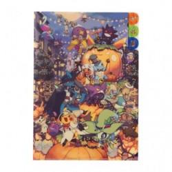 A4 Clear File Set Halloween Pokemon japan plush