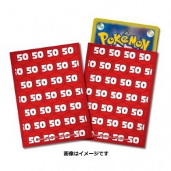Pokemon Card Sleeves Damage 50 japan plush