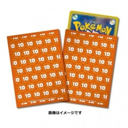 Pokemon Card Sleeves Damage 10 japan plush