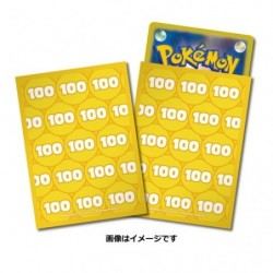 Pokemon Card Sleeves Damage 100 japan plush