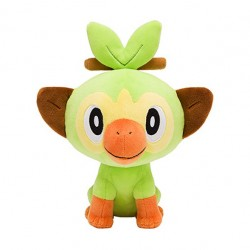 Starter Plush Grookey Pokemon Sword and Shield japan plush
