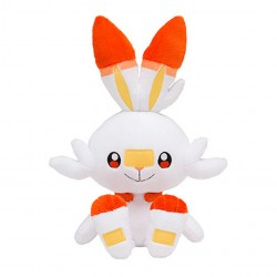 Starter Plush Scorbunny Pokemon Sword and Shield