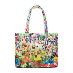 Reversible Tote bag Berry's forest japan plush