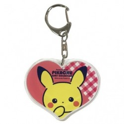 Acrylic key holder Pikachu Girly japan plush