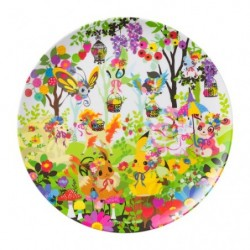 Melamine plate Berry's forest japan plush