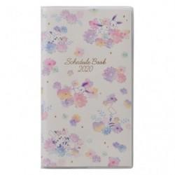 Schedule book 2020 flower japan plush