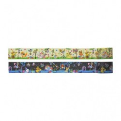 Masking tapes Set x2  Berry's forest and Ghost's castle japan plush