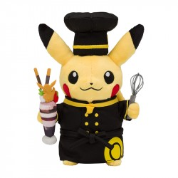 Plush Pikachu Pastry Cook Pokémon Café japan plush