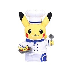Plush Pikachu Chef Pokémon Café japan plush