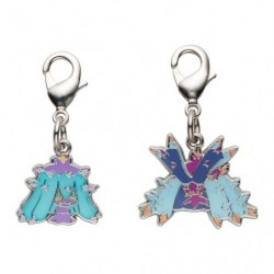 Metal keychain Mareanie Toxapex 747・748 japan plush