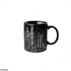 Mug Cup KINGDOM HEARTS III Silver Black