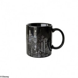Mug Tasse KINGDOM HEARTS III Silver Black japan plush