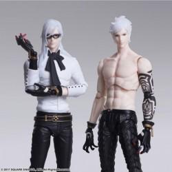 Figurine Nier Automata BRING ARTS Adam & Eve japan plush
