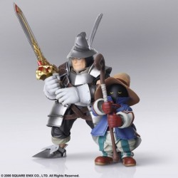 Figure FINAL FANTASY IX BRING ARTS Bibi Ornitia and Adelbert Steiner