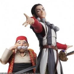 Figurine Dragon Quest XI BRING ARTS Silvia and Low japan plush
