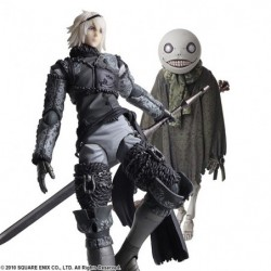 Figure NieR Replicant BRING ARTS Nia and Emile japan plush