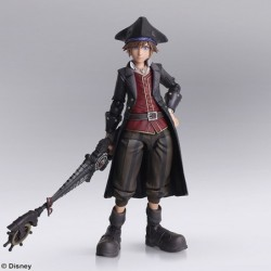 Figure KINGDOM HEARTS III BRING ARTS Sora Pirates of Carribeans Ver. japan plush