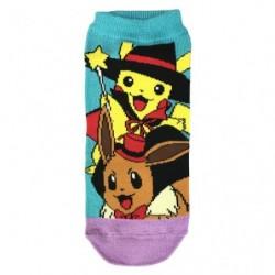 Socks Pikachu and Eevee Wizard japan plush