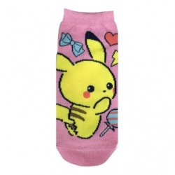 Chaussettes Pikachu Girly Icone japan plush
