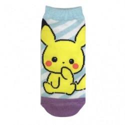 Chaussettes Pikachu Girly Stripe japan plush