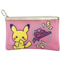 Clear Pocket Girly Pikachu Pink japan plush