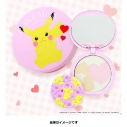 Pokemon Pressed Powder Pikachu japan plush
