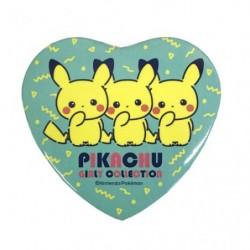 Badge Heart Girly Logo Pikachu japan plush
