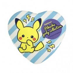 Badge Heart Stripe Pikachu japan plush