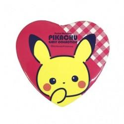 Badge Heart Pikachu japan plush
