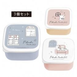 Lunch Box Set Pikachu number025 Window japan plush