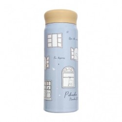 Stainless Bottle Pikachu number025 Window japan plush