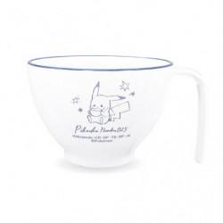 Mug Soup Cup Pikachu number025 Window japan plush