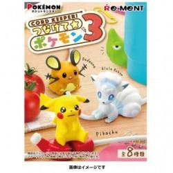 CORD KEEPER Collection Pokemon 3 BOX japan plush