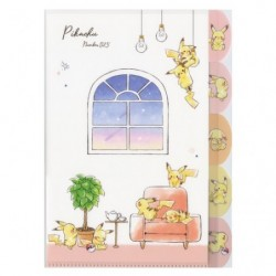 5 Index Clear File Pikachu number025 ROOM japan plush