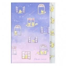 5 Index Pochette Transparente Pikachu number025 WINDOW