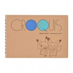 Pocket Croquis Book Pokemon Center DX