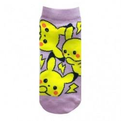 Chaussettes courtes Pikachu 23 25cm japan plush
