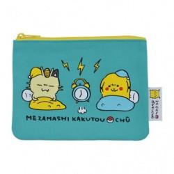 Flat pouch 24 Jikan Pokémon Chu japan plush